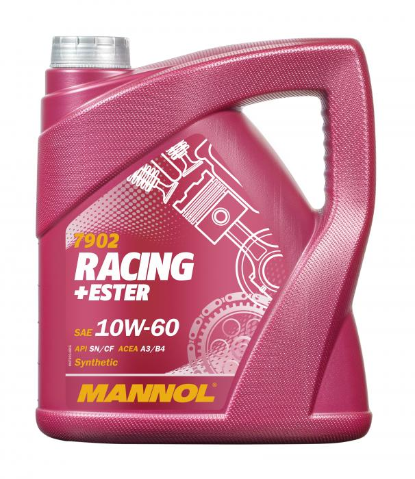 4 Liter Mannol Synth.10W-60 Racing-Ester € 15,99
