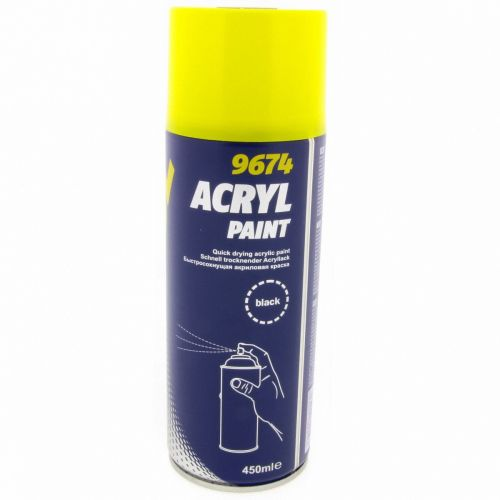 Acryl Paint Black 450ml  - 9674 - € 3,49