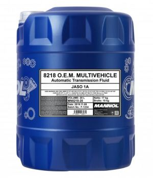 20 Liter Mannol  ATF Multivehicle 3309 - € 74,95